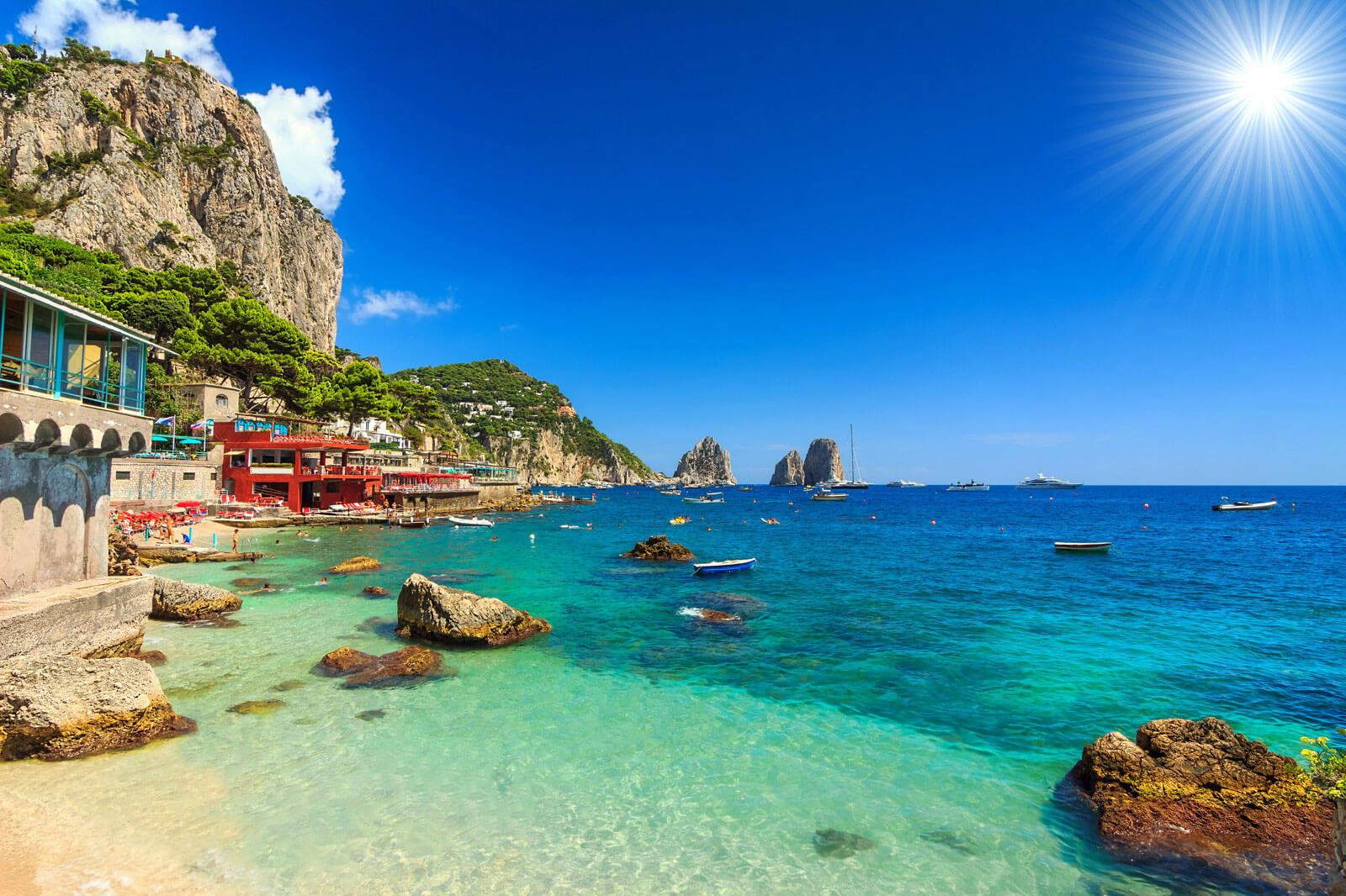 Capri boat private excursion