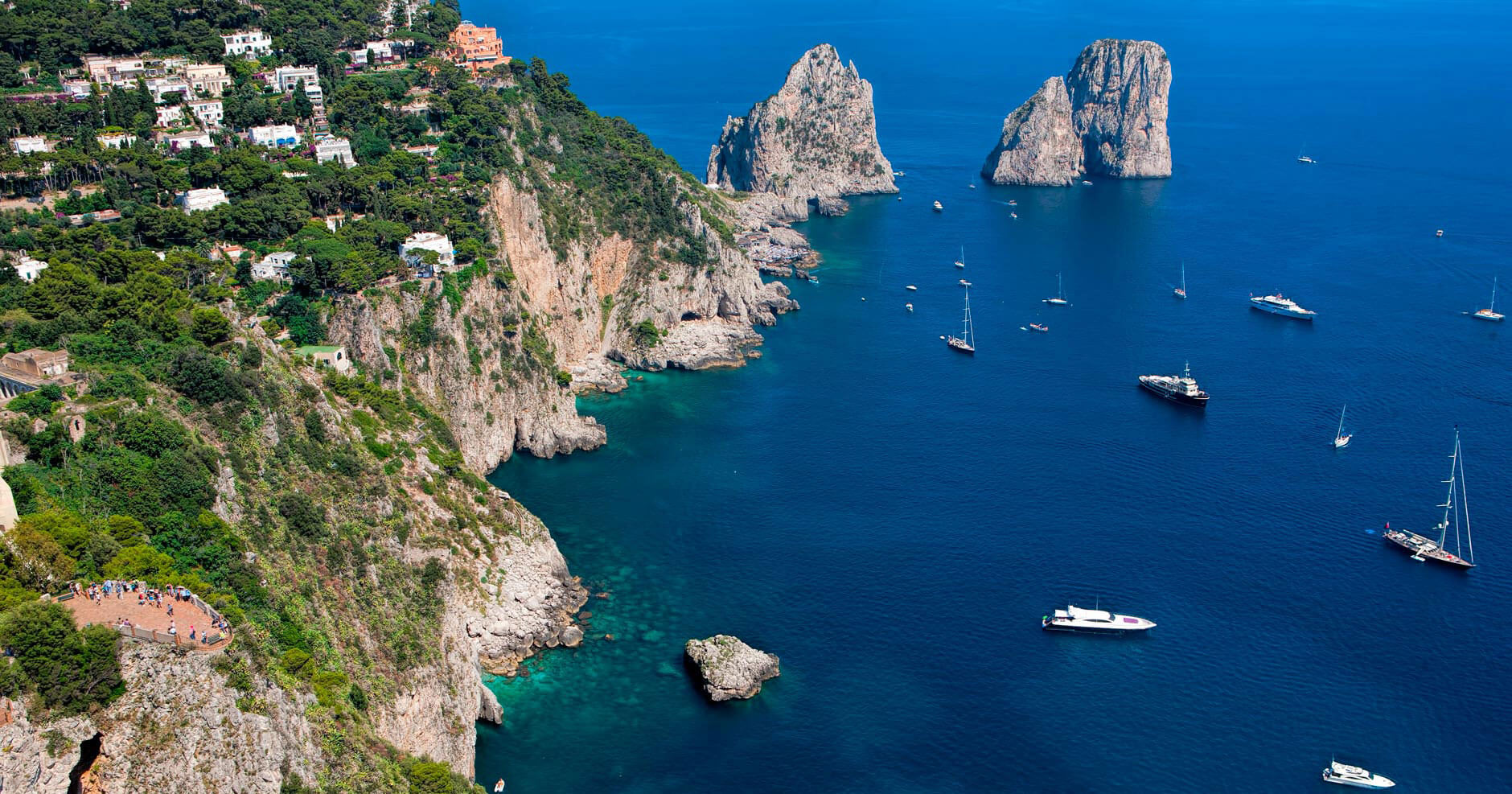 Capri boat private tour